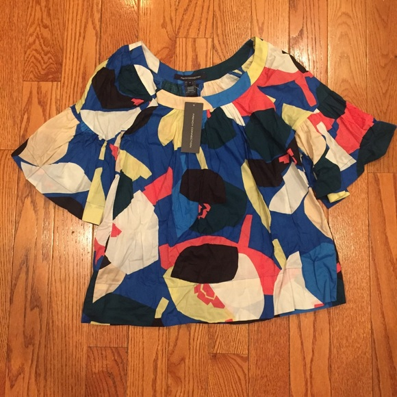 f4c9f5e12a NWT French connection blouse